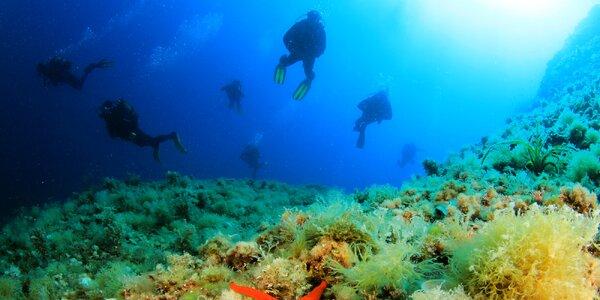 Týždeň potápania v Chorvátsku aj pre začiatočníkov