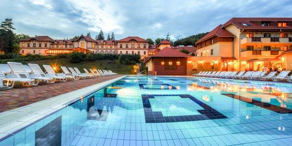 Atraktívny pobyt v maďarskom kúpeľnom mestečku s procedúrami a aktivitami