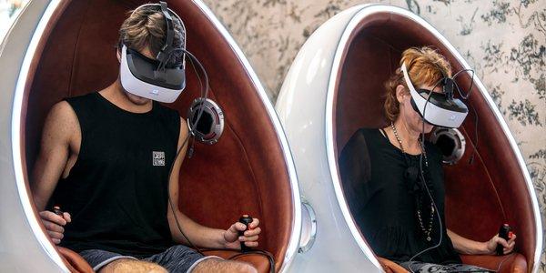 Jazda na 9D virtuálnej realite