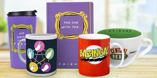 Darčeky pre fanúšikov Priateľov a Big Bang Theory