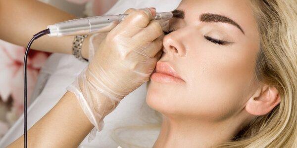 Permanentný make-up obočia či očných liniek