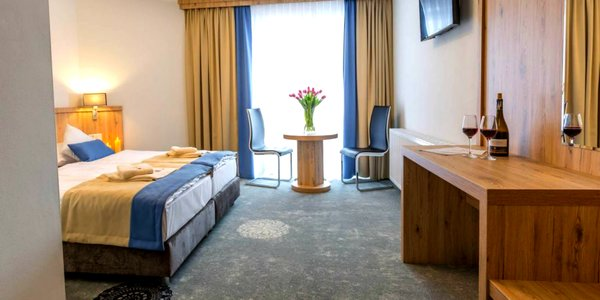 Ubytovanie v príjemnom hoteli Grand Tatry so zľavami do aquaparkov