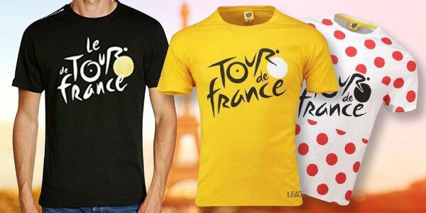 Oficiálne tričká z pretekov Tour de France
