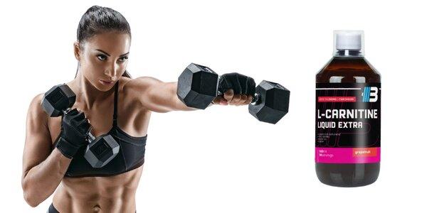 L-Carnitine liquid extra + dámske fitness rukavice