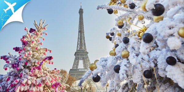 4-dňový letecký adventný zájazd do romanticky očarujúceho Paríža
