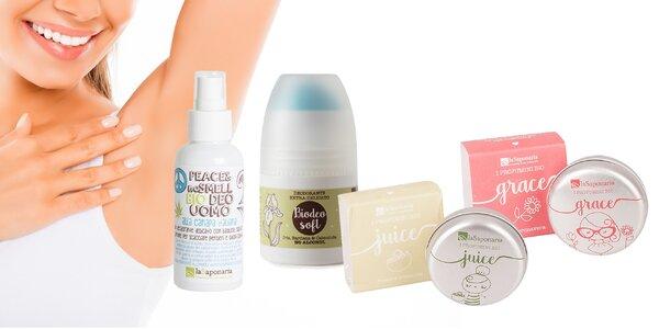 Tuhé parfémy a guľôčkové deodoranty