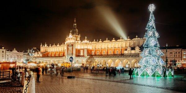 Magické predvianočné dva dni v Zakopanom a v Krakove