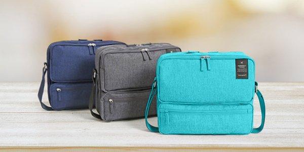 Praktická cestovná taška v troch farbách