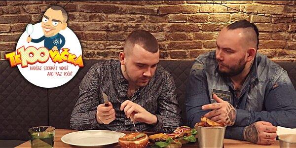VIDEO | TE100VAČKA: Daniel Hrivňák testuje burgery v Bratislave + SÚŤAŽ