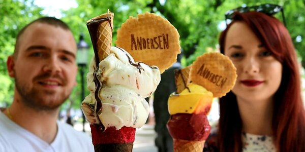 VIDEO | Jasper predstavuje: Andersen Ice Cream