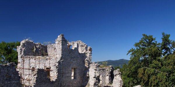 TIP na výlet: Zrúcanina hradu Tematín