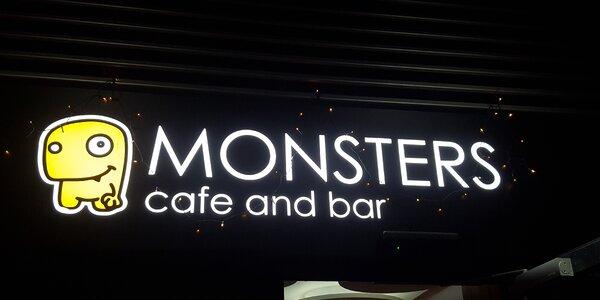 Vy ešte nepoznáte MONSTERS cafe?
