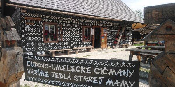 Tip na výlet: Rozprávkové domčeky v Čičmanoch