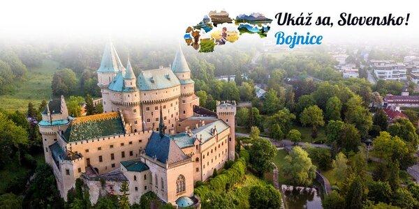 Očarujúce Bojnice v ďalšej časti Ukáž sa, Slovensko!