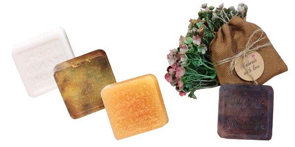 HANDMADE slovenské mydlá v 13 rôznych vôňach