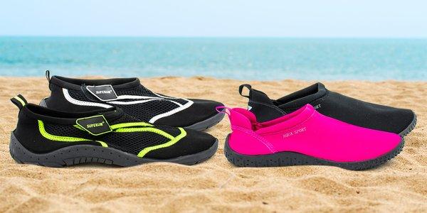 Pánska a dámska obuv do vody