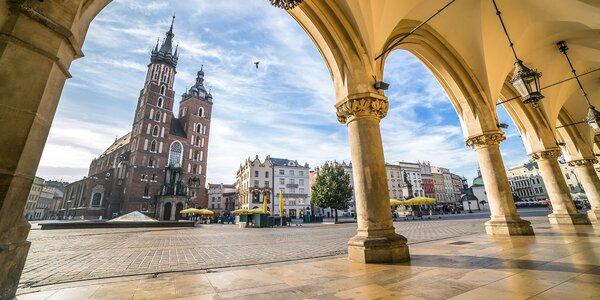 Krakow, Osvienčim a raj zážitkov v bani Wieliczka