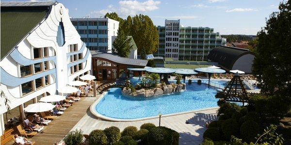 Wellness dovolenka v Hevízí so zážitkovými a termálnymi kúpeľmi