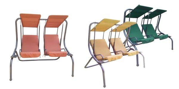Zahradné hojdačky značky AGA Double Swing - pre dve osoby
