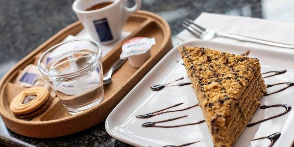 Talianska káva s cheescakom alebo marlenkou