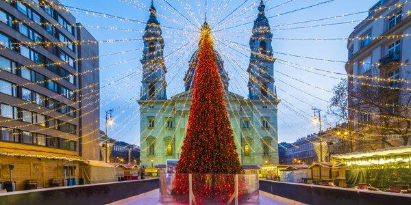 Predvianočné Unicum v Budapešti: prehliadka mesta aj čarovné trhy