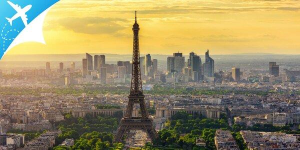Letecký zájazd do nezabudnuteľného Paríža s možnosťou návštevy Disneylandu