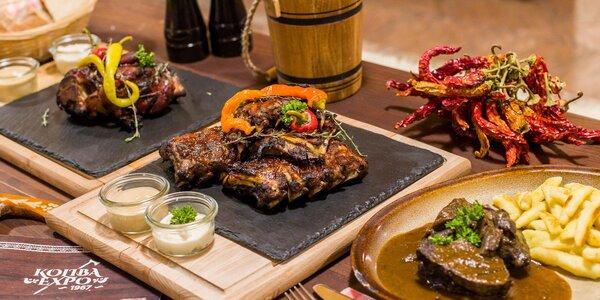 Mäsové špeciality v reštaurácii Koliba EXPO na Kamzíku