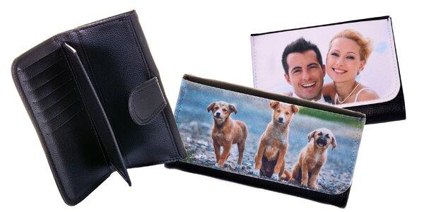 Dámska alebo pánska peňaženka s vlastnou fotografiou