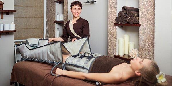 Prístrojová lymfodrenáž rúk, brucha a nôh či výhodná permanentka