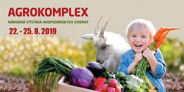 Jednodňová vstupenka na výstavu AGROKOMPLEX 2019