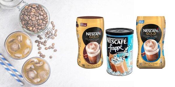Pravé letné osvieženie s 3 druhmi káv Nescafé!