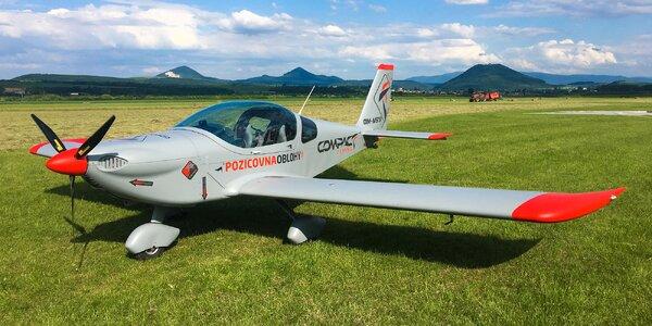 Let lietadlom Viper SD4 s možnosťou pilotovania