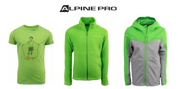 Detské tričká, mikiny a bundy Alpine Pro