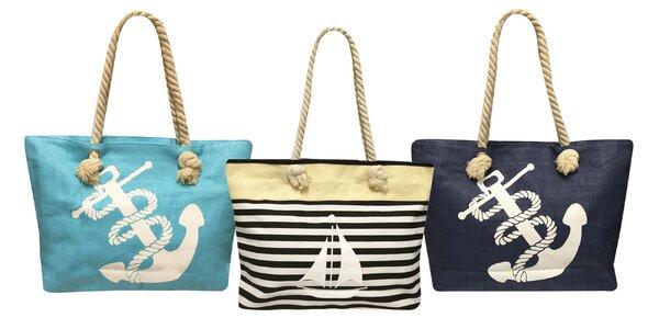 Dámske letné tašky v námorníckom štýle