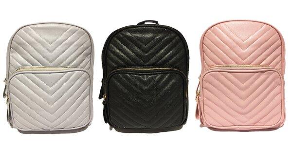 Dámske batohy z eko kože v 5 farbách