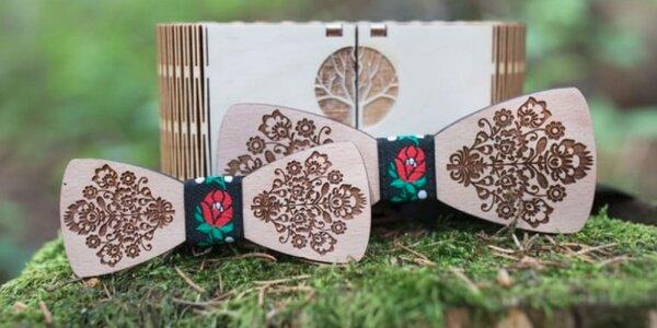 Drevené motýliky pre malých i veľkých elegánov