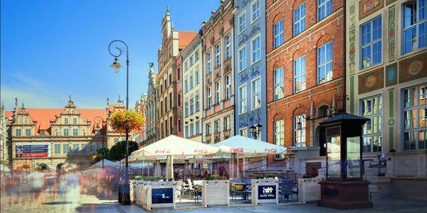 Pobyt v srdci Gdaňska: raňajky a 10% zľava do spa
