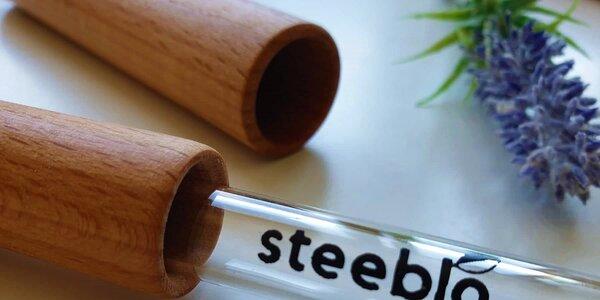 Eko slamky Steeblo: vymeňte plast za sklo!