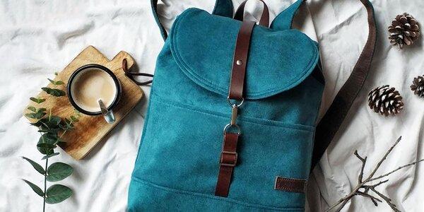 Ručne šitá taška, batoh či kabelka