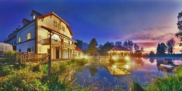 Rozprávková dovolenka v blízkosti Třebone: polpenzia, vírivka i výlety