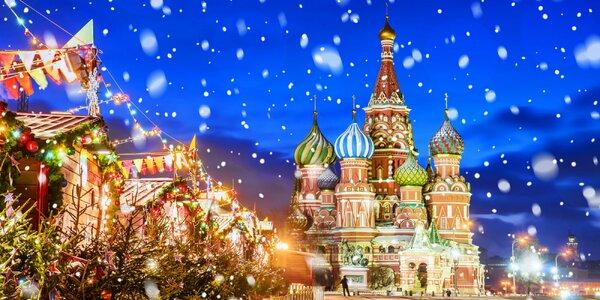 4-dňový letecký zájazd do očarujúcej Moskvy