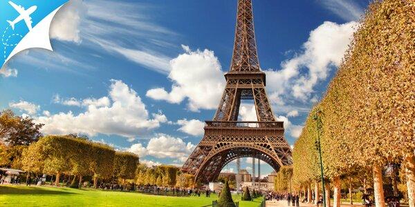 4-dňový letecký zájazd do očarujúceho Paríža!