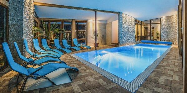 Pobyt pri aquaparkoch na Liptove s privátnym wellness a vyhrievaným bazénom
