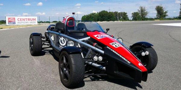 Jazda na super rýchlom aute Ariel Atom!