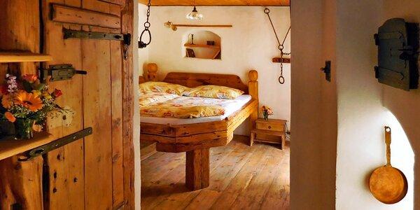 Ubytovanie v stredovekom penzióne v Českom Krumlově
