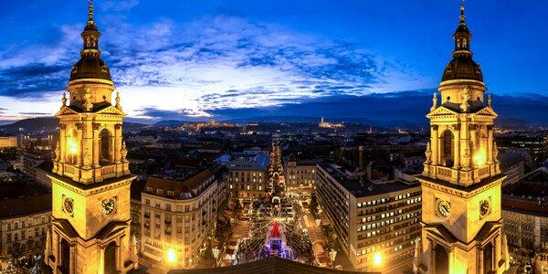 Krásy adventnej Budapešti - dvojdňový zájazd