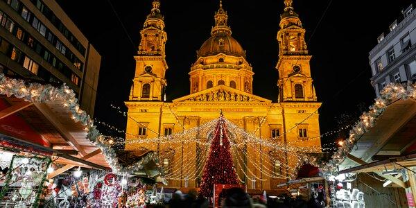 Jednodňový zájazd do Budapešti na vianočné trhy