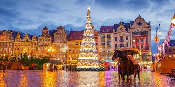 2-dňový vianočný zájazd do Wrolawu i Olomouca