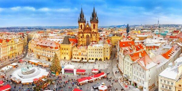 2-dňový adventný zájazd do Prahy a Českého Krumlova