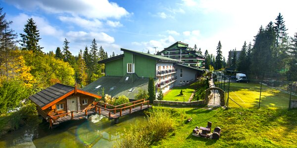 Wellness pobyt v obklopení tatranskej prírody